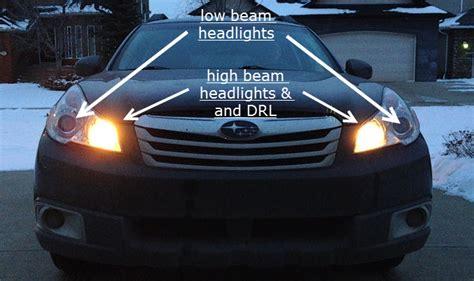 subaru headlight names drl parking lights subaru outback subaru outback forums