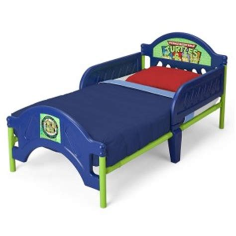 Tmnt Toddler Bed by Mutant Turtles Toddler Bed