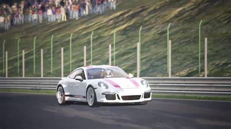 assetto corsa ps4 assetto corsa ps4 spa porsche 911 r with thrustmaster t150