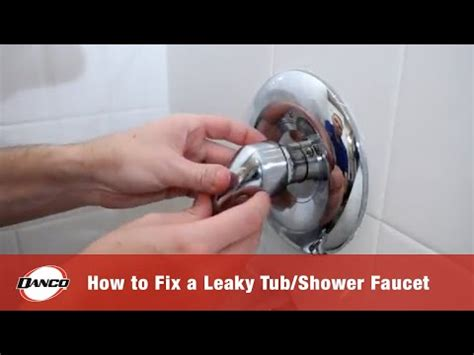 danco   fixing  leaky tubshower faucet youtube