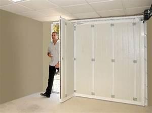 porte de garage coulissante sans ecoincon maison travaux With porte coulissante de garage motorisée