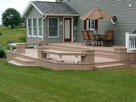 decks without railings design decks railings sunspace of central ohio by sunspace sunrooms