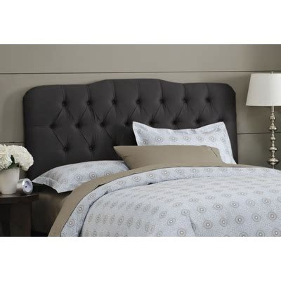 black tufted headboard buy springfield upholstered headboard size