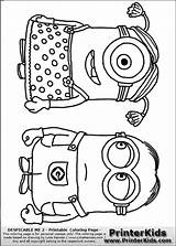 Minion Coloring Pages Minions Despicable Standing Printable Party Coloriage Sheets Pattern Theme Til Disney Classroom Kleurplaten Birthday Dessin Anime Craft sketch template