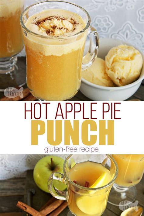 Hot apple pie shot 1/2 oz. Caramel Apple Pie Ice Cream Punch | Recipe | Apple pie drink, Caramel apples
