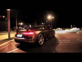 audi     fsi  sound exhaust ride  night