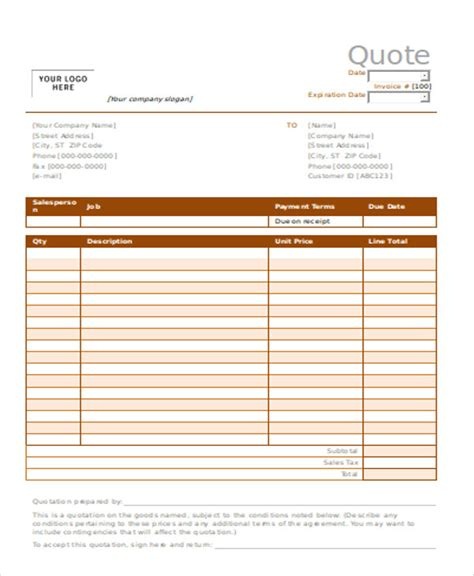 catering pricing template catering price quote template templates station