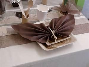 Tapisser Avec 2 Papiers Differents : pliage de serviette pour mariage pliage de serviette en papier pour mariage les 25 meilleures ~ Nature-et-papiers.com Idées de Décoration