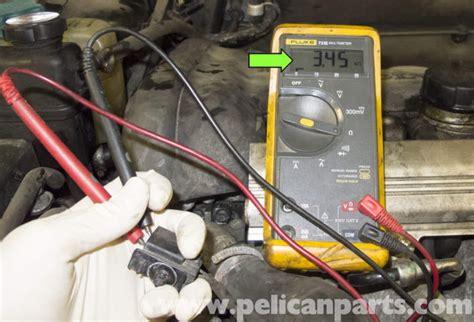 volvo  coolant temperature sensor testing