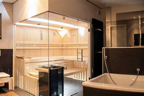 Design Sauna Glasfront by Glasfront Sauna Luxuri 246 S Design Transparent Apart