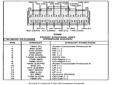1997 Ford Ranger Wiring Diagram by 2000 Ford Ranger Radio Wiring Diagram Wiring Forums