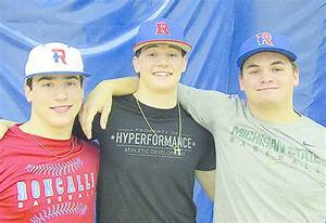 Trio Eager For Start Of Baseball Season