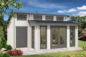 Gartenhaus 40 Qm : gartenhaus lausitz 40 iso mit anbau gartenhaus pinterest ~ Frokenaadalensverden.com Haus und Dekorationen