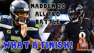 Madden 20 1st Team All Pro Vs  2nd Team All-pro Match Up