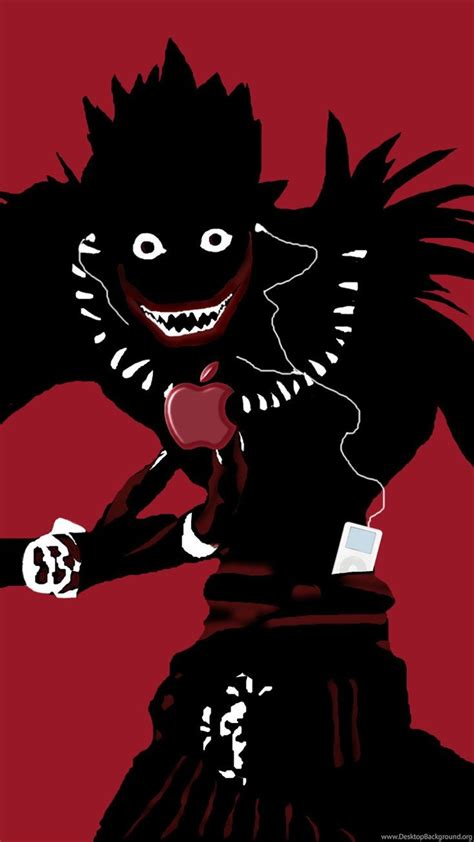 Anime Wallpaper For Iphone 4s - note ryuk wallpapers iphone anime wallpapers