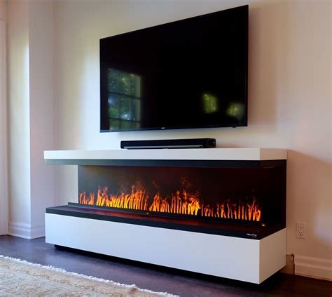 water vapor fireplace fireplace with tv above water vapor technology opti myst