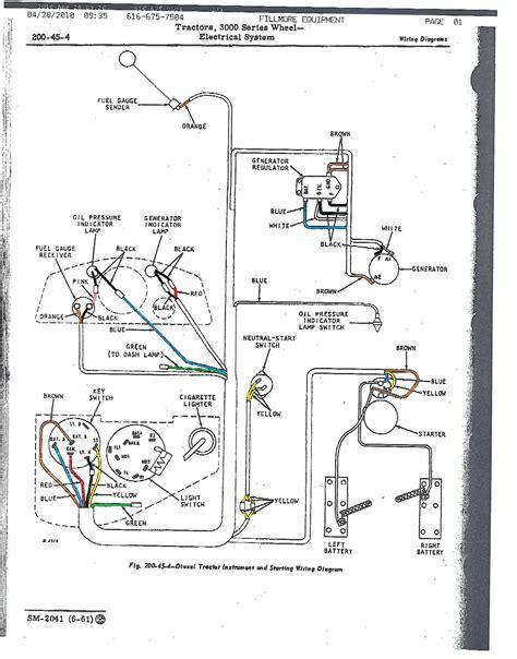 john deere  wiring diagram light wiring diagram