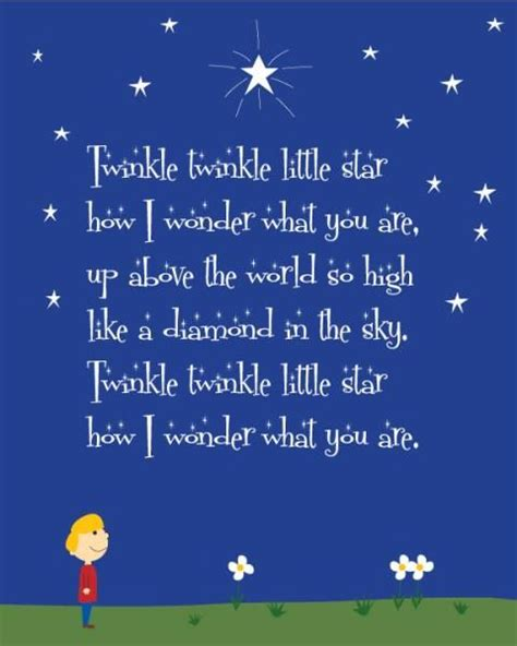 twinkle twinkle lyrics baby stuff pinterest