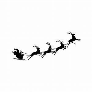 Traineau Du Père Noel : stickers traineau du p re no l adh sif d co de no l autocollant pour une d coration pas ch re ~ Medecine-chirurgie-esthetiques.com Avis de Voitures