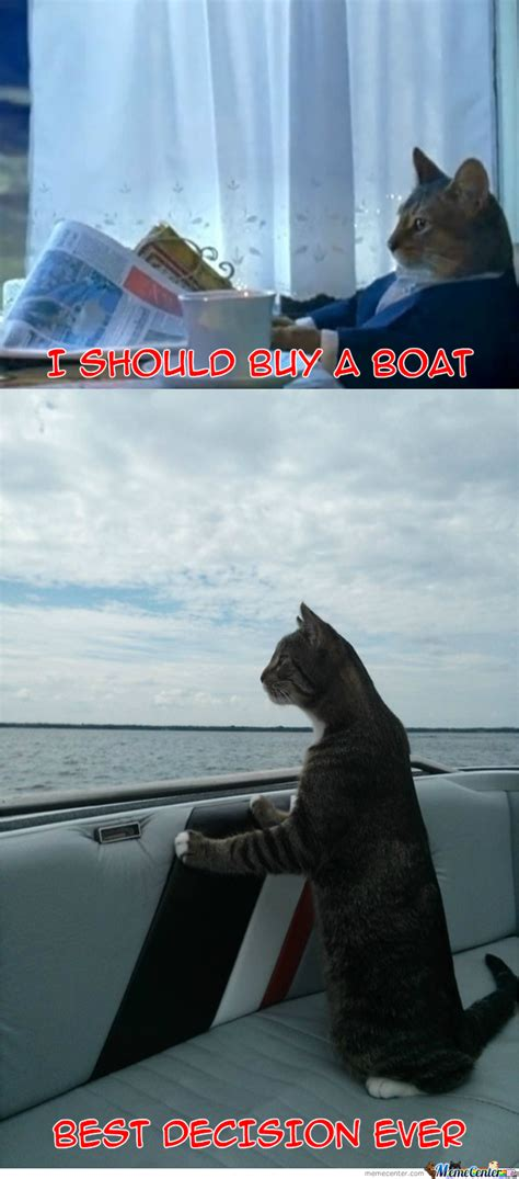 Buy A Boat by I Should Buy A Boat By Zombiesdrinktea Meme Center