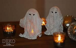 Mit Gips Basteln : diy coole halloween gespenster aus gips deko kitchen ~ Lizthompson.info Haus und Dekorationen