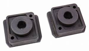 Lower Radiator Mount Bushings 04-06 Vw Phaeton - Genuine