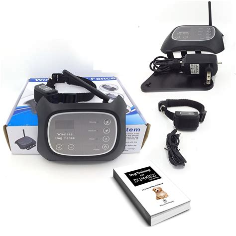 dog zone wireless radio frequency dog fence containment system
