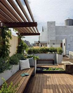covered terrace 50 ideas for patio roof of modern houses With markise balkon mit tapeten ideen wohnzimmer beige