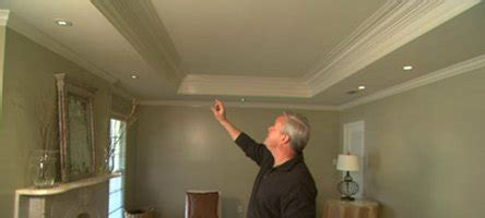 How To Make A Tray Ceiling by How To Build A Tray Ceiling Ehow