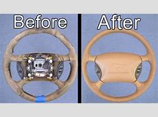 How To Restore Your Car's Steering Wheel Looks Brand New