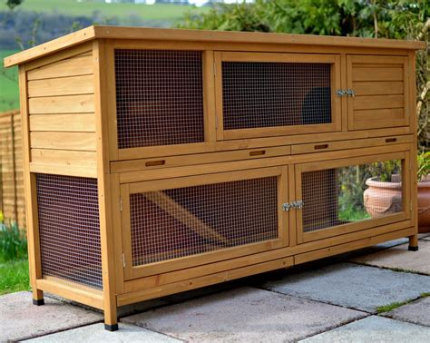 a rabbit hutch the coach house 6ft large rabbit hutch rabbit hutches