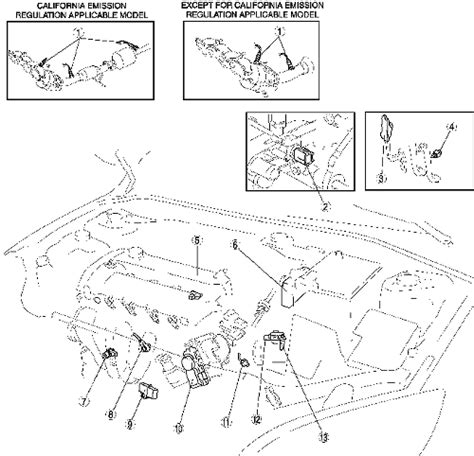 Mazda 3 Maf System Diagram by Repair Guides Component Locations Component