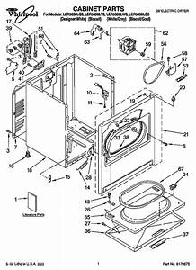 Whirlpool Ler5636lq0 Dryer Parts And Accessories At Partswarehouse