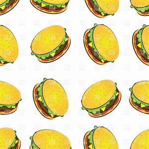 Cartoon Hamburger Wallpaper - WallpaperSafari