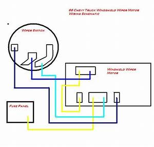 1964 Colored Wiring Diagram - The 1947