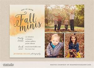 Fall mini session template flyer templates on creative market for Free mini session templates