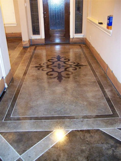 paint indoor concrete floors home interior