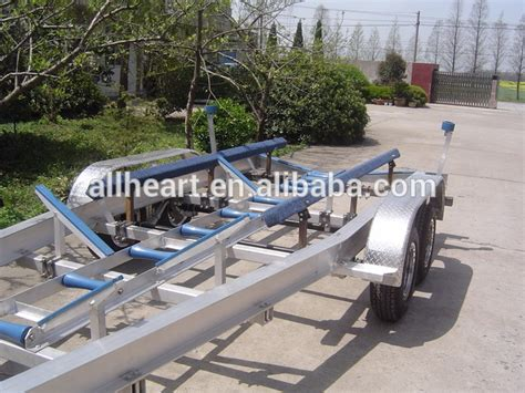 Boat Trailer Dual Axle by Dual Axle Aluminum Boat Trailer With Hydraulic Brake Buy