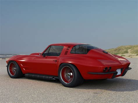 1966 chevrolet corvette coupe classic muscle supercar