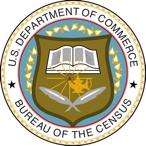bureau usa file seal of the united states census bureau svg