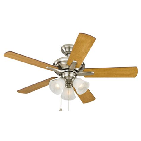 harbor breeze fans reviews shop harbor breeze lansing 42 in brushed nickel indoor