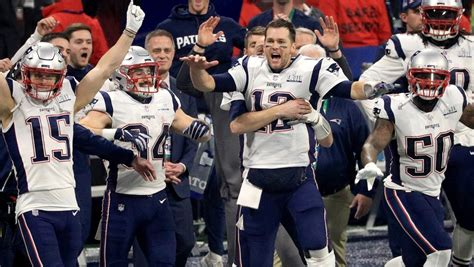 super bowl  winner patriots beat rams