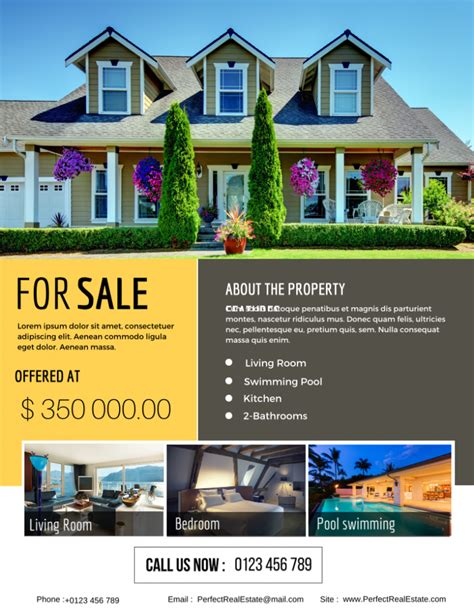 real estate flyer the best real estate flyer for all realty companies