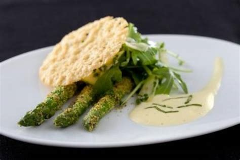 recette de asperges vertes crues et cuites au sabayon