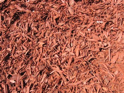 cedar chip mulch soildirect com red dye cedar chips in bassett california