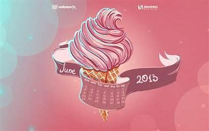June Desktop Summer Calendar Wallpapers Fresh Picfish