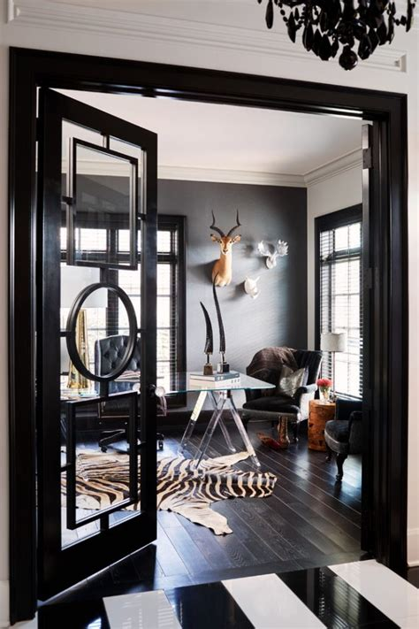 inspirational transitional home office designs