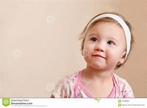 Baby Thinking Stock Photo - Image: 43180882