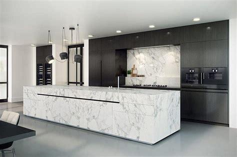 eggersmann keuken met statuario marmer van boven keukens
