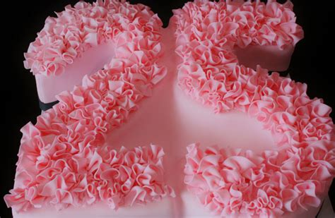 birthday cakes nj  pink ruffles custom cakes